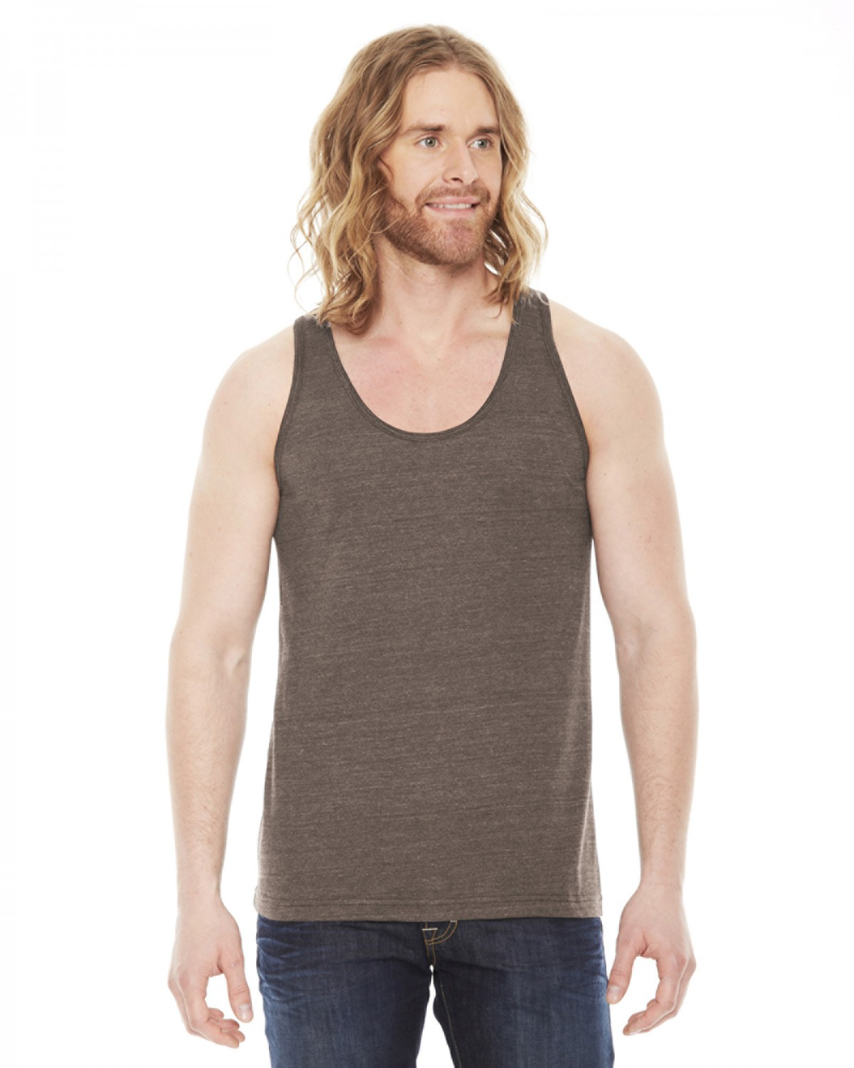 TR408W American Apparel TRI COFFEE