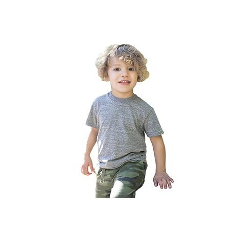 US2500K US Blanks US2500K Toddler Tri-Blend Crewneck T-Shirt TRI GREY