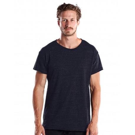 US3400 US Blanks US3400 Men's Made in USA Skater T-Shirt TRI NAVY