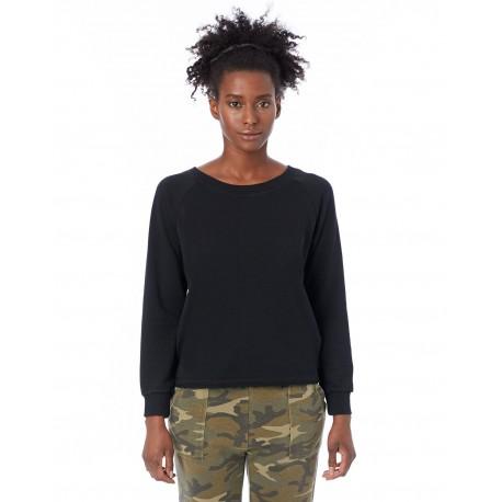 8626F Alternative 8626F Ladies' Lazy Day Pullover TRUE BLACK