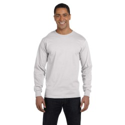 Hanes 5186 Adult 6.1 oz. Long-Sleeve Beefy-T