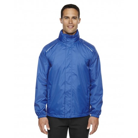 88185 Core 365 88185 Men's Climate Seam-Sealed Lightweight Variegated Ripstop Jacket TRUE ROYAL 438