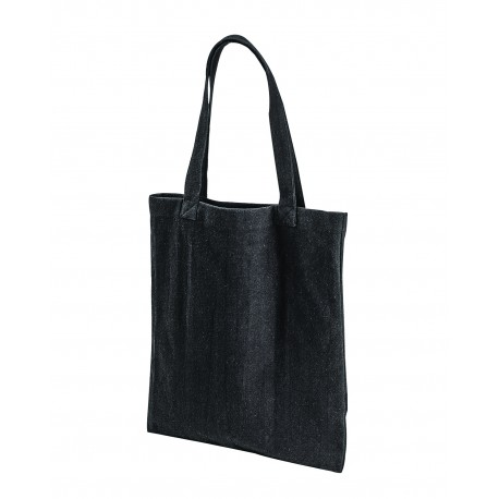 EC8004 Econscious EC8004 Post Industrial Recycled Cotton Tote BLACK