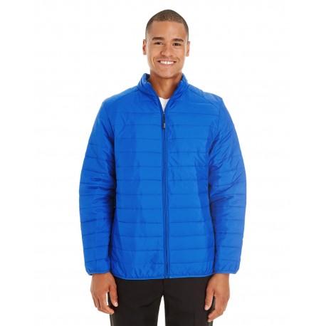 CE700 Core 365 CE700 Men's Prevail Packable Puffer Jacket TRUE ROYAL 438