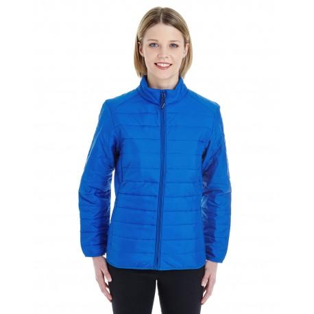 CE700W Core 365 CE700W Ladies' Prevail Packable Puffer Jacket TRUE ROYAL 438