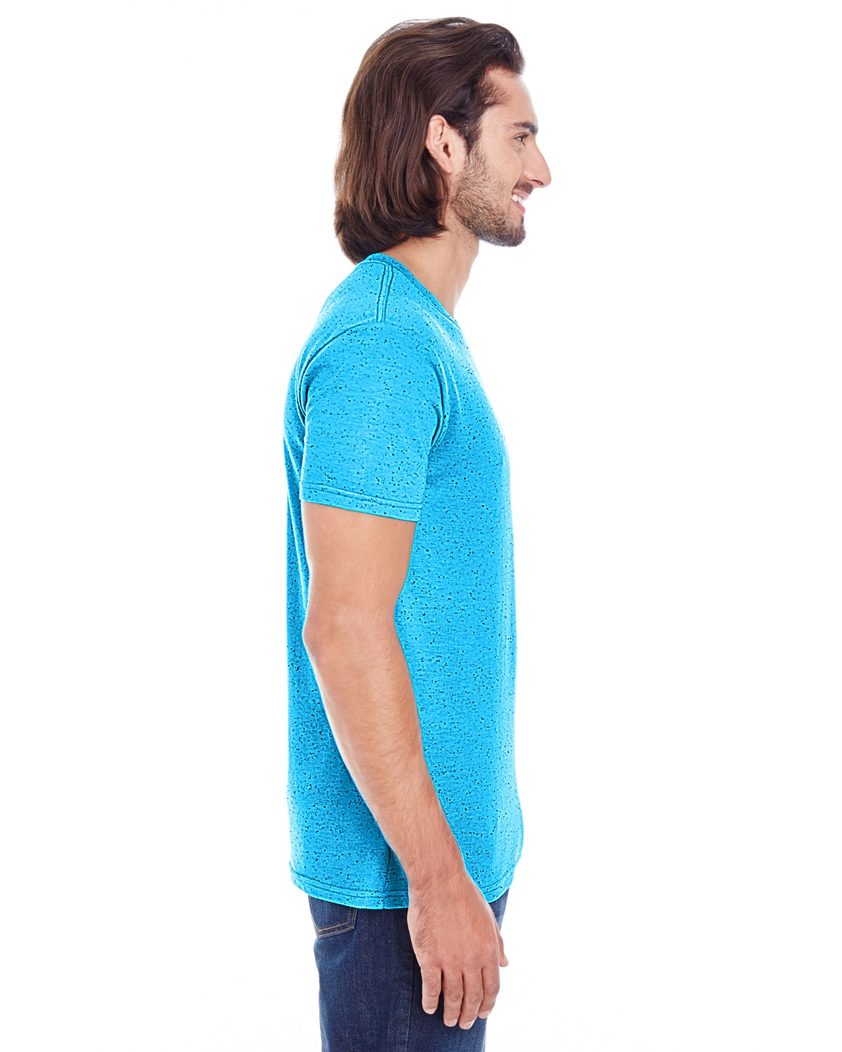 103A Threadfast Apparel TURQUOISE FLECK