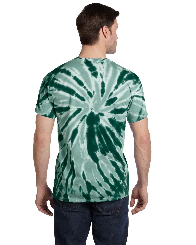 CD110 Tie-Dye TWIST DARK GREEN