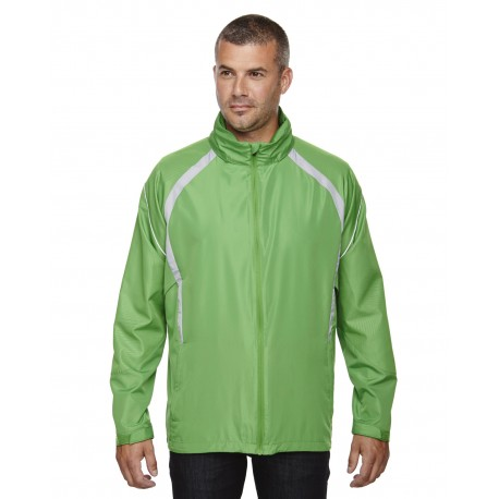 88168 North End 88168 Men's Sirius Lightweight Jacket with Embossed Print VALLEY GREEN 448