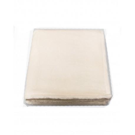 PLS6070 Pro Towels PLS6070 Plushera Throw Kanata Blanket VANILLA/WHT