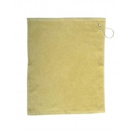 TRU18CG Pro Towels TRU18CG Jewel Collection Soft Touch Golf Towel VEGAS GOLD