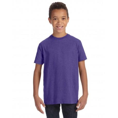 6105 LAT 6105 Youth Vintage Fine Jersey T-Shirt VINTAGE PURPLE