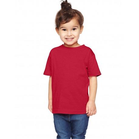 RS3305 Rabbit Skins RS3305 Toddler Vintage Fine Jersey T-Shirt VINTAGE RED