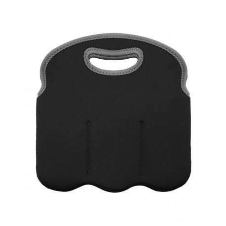 OAD021 OAD OAD021 Neoprene 6-Pack Tote BLACK