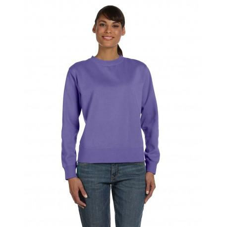 C1596 Comfort Colors C1596 Ladies' Crewneck Sweatshirt VIOLET
