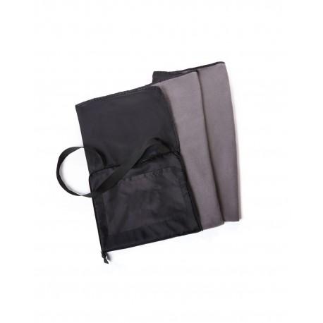 STD5160 Pro Towels STD5160 Stadium Cushion And Kanata Blanket BLACK