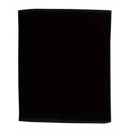 TRU18 Pro Towels TRU18 Jewel Collection Soft Touch Sport/Stadium Towel BLACK