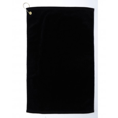 TRU25CG Pro Towels TRU25CG Diamond Collection Golf Towel BLACK