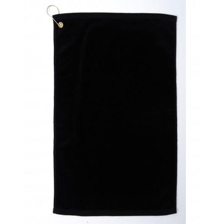 TRU35CG Pro Towels TRU35CG Platinum Collection Golf Towel BLACK