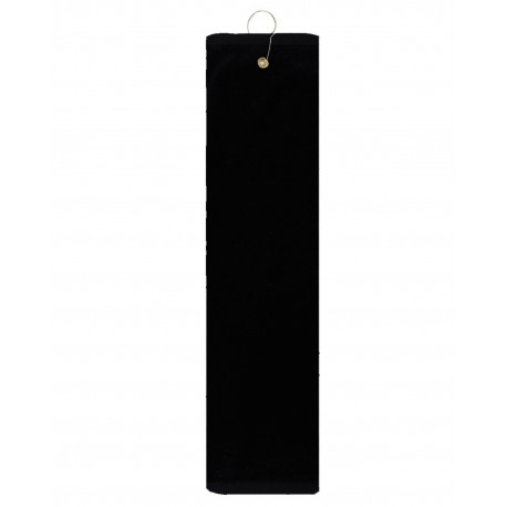 TRU35TF Pro Towels TRU35TF Platinum Collection Golf Towel BLACK