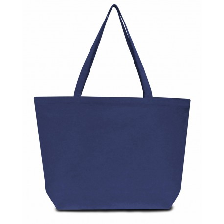 LB8507 Liberty Bags LB8507 Seaside Cotton 12 oz. Pigment-Dyed Large Tote WASHED NAVY