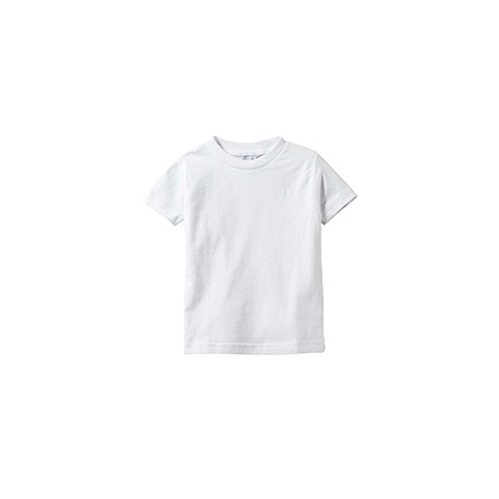 3322 Rabbit Skins 3322 Infant Fine Jersey T-Shirt WHITE