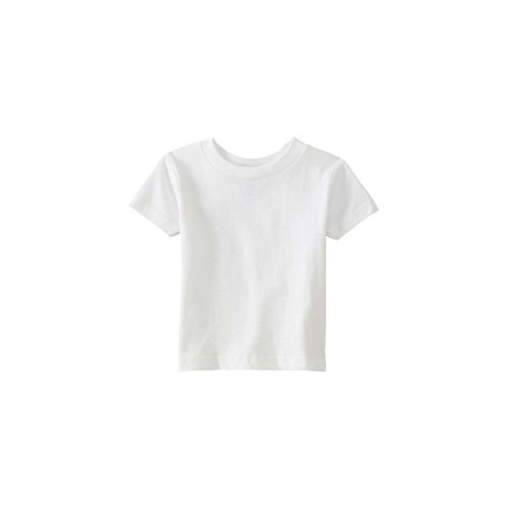 3401 Rabbit Skins 3401 Infant Cotton Jersey T-Shirt WHITE
