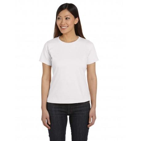 3580 LAT 3580 Ladies' Premium Jersey T-Shirt WHITE
