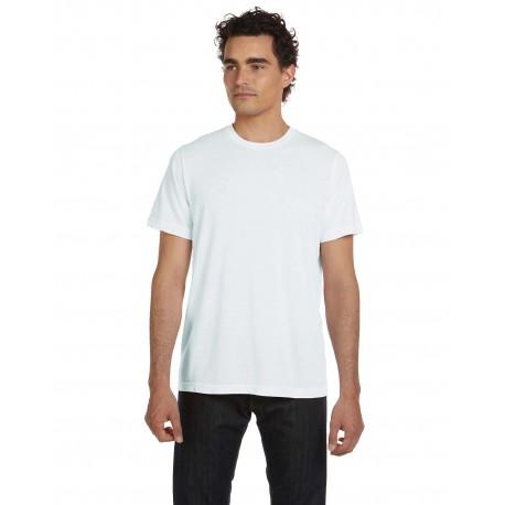 3650 Bella + Canvas 3650 Unisex Poly-Cotton Short-Sleeve T-Shirt WHITE
