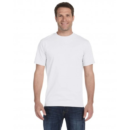 5280 Hanes 5280 Adult 5.2 oz. ComfortSoft Cotton T-Shirt WHITE