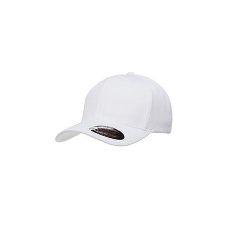6597 Flexfit 6597 Adult Cool & Dry Sport Cap WHITE