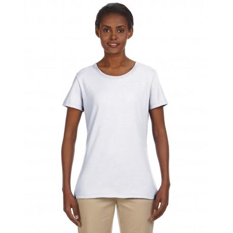 29WR Jerzees 29WR Ladies' 5.6 oz. DRI-POWER ACTIVE T-Shirt WHITE
