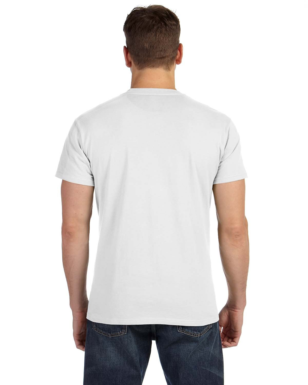 498P Hanes WHITE