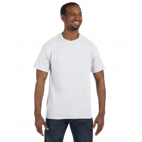 5250T Hanes 5250T Men's 6.1 oz. Tagless T-Shirt WHITE