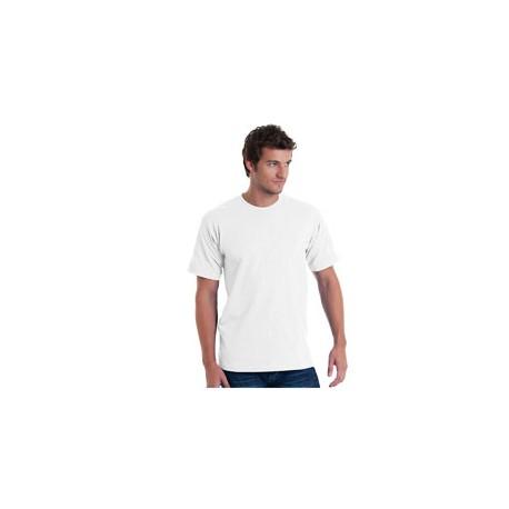 BA5040 Bayside BA5040 Adult Short-Sleeve T-Shirt WHITE