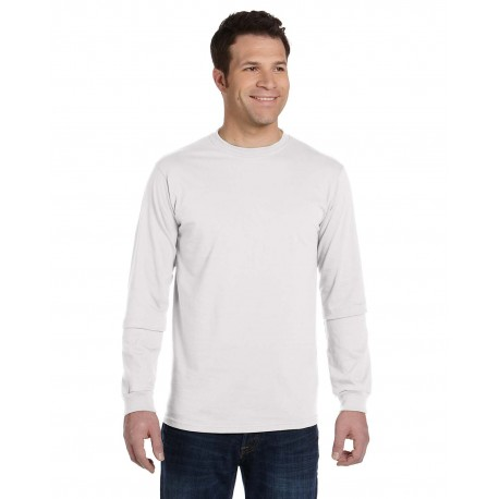 EC1500 Econscious EC1500 Men's 5.5 oz., 100% Organic Cotton Classic Long-Sleeve T-Shirt WHITE