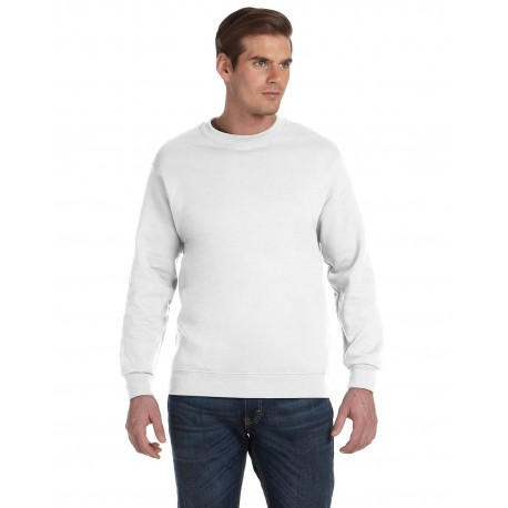 G120 Gildan G120 Adult DryBlend Adult 9 oz., 50/50 Fleece Crew WHITE