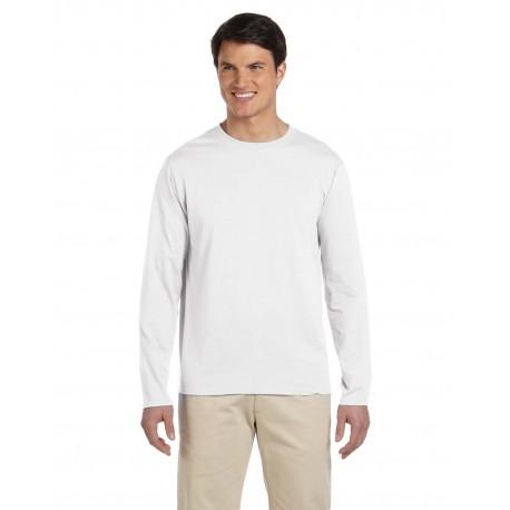 G644 Gildan G644 Adult Softstyle 4.5 oz. Long-Sleeve T-Shirt WHITE