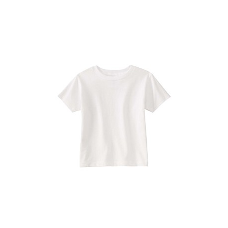 RS3301 Rabbit Skins RS3301 Toddler Cotton Jersey T-Shirt WHITE