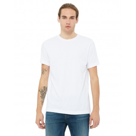 3091 Bella + Canvas 3091 Unisex Heavyweight 5.5 oz. Crew T-Shirt WHITE