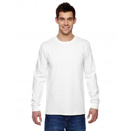 SFLR Fruit of the Loom SFLR Adult 4.7 oz. Sofspun Jersey Long-Sleeve T-Shirt WHITE