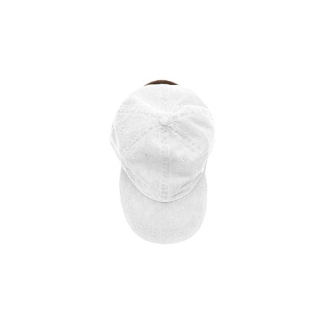 ACKO101 Adams ACKO101 Youth Pigment-Dyed Cap. WHITE