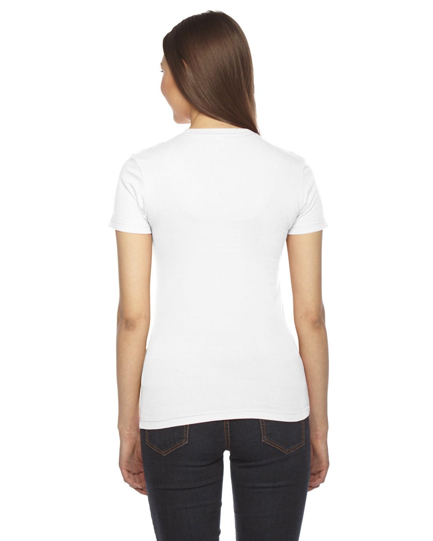 2102 American Apparel WHITE