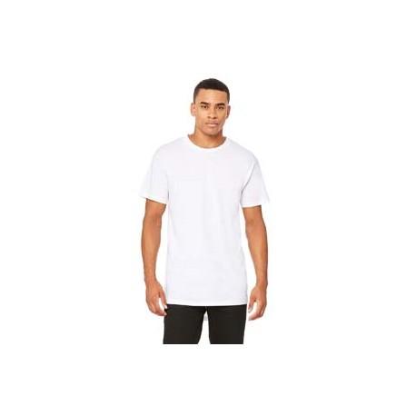 3006 Bella + Canvas 3006 Men's Long Body Urban T-Shirt WHITE