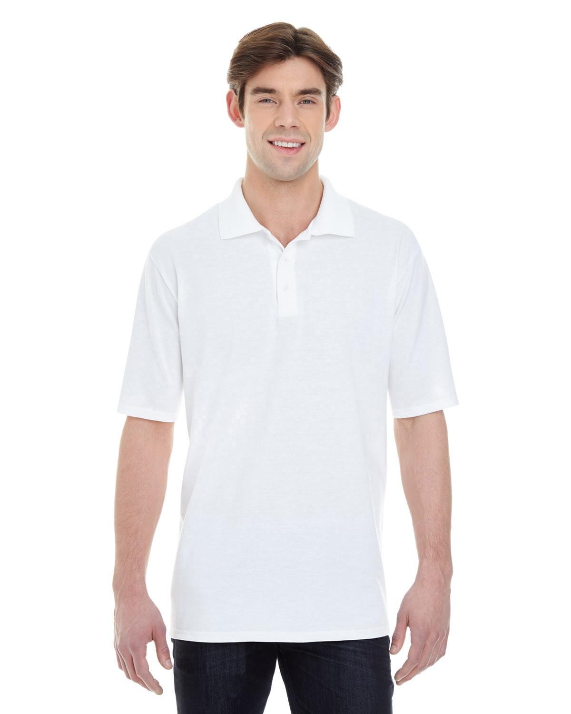 055P Hanes WHITE