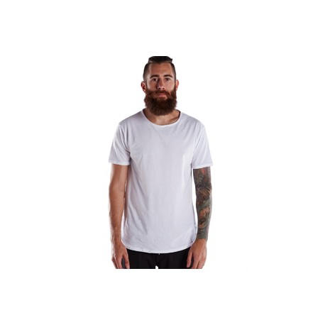 US2488 US Blanks US2488 Men's Short-Sleeve Recycled Crew WHITE