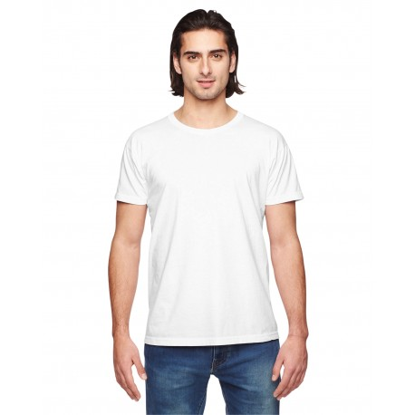 2011W American Apparel 2011W Unisex Power Washed T-Shirt WHITE