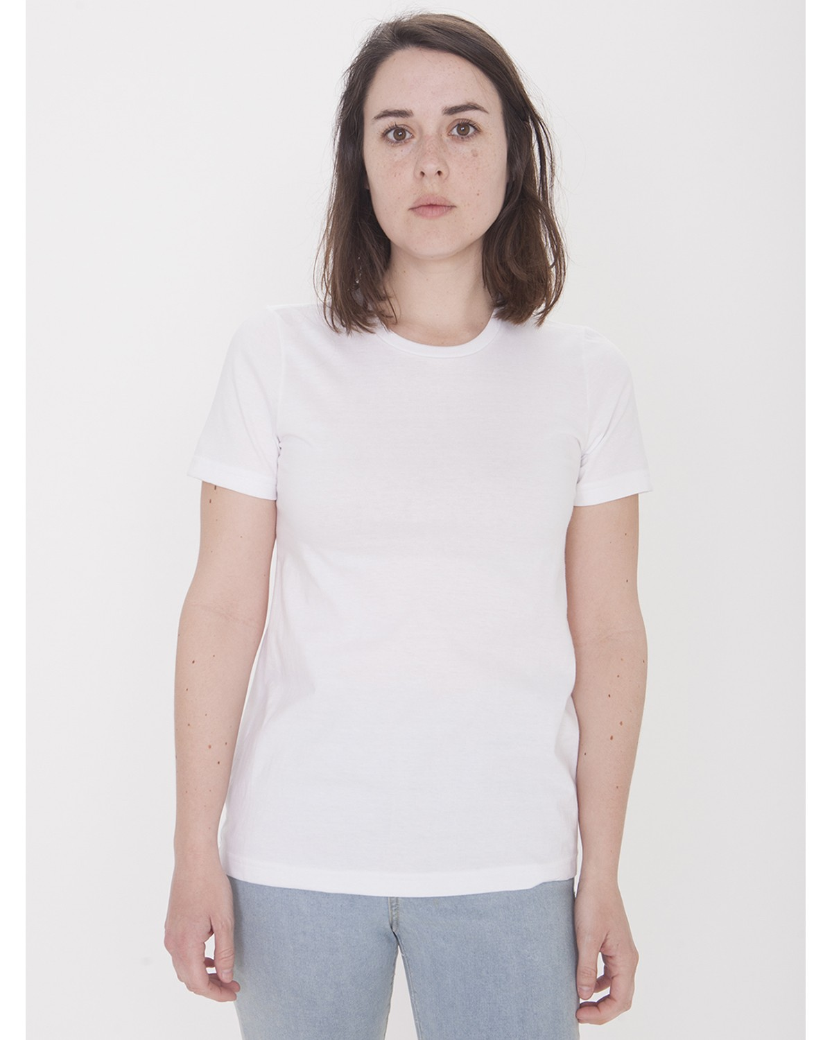 23215OW American Apparel WHITE