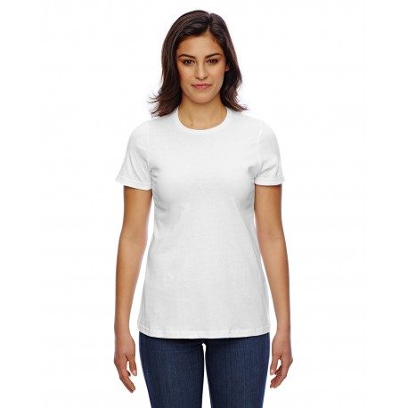 23215W American Apparel 23215W Ladies' Classic T-Shirt WHITE