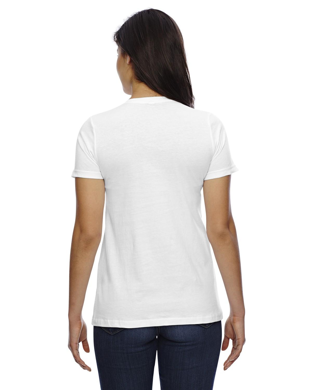 23215W American Apparel WHITE