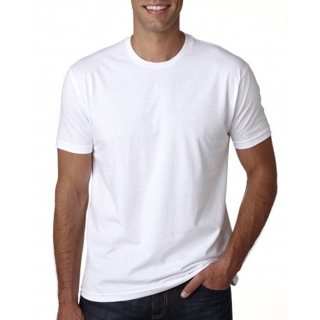 3600A Next Level 3600A Men's Made in USA Cotton Crew WHITE